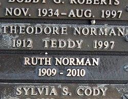 Theodore Teddy Norman