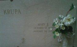 Mary <i>Ehlerman</i> Krupa