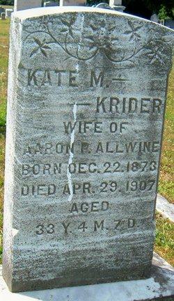 Kate Minerva <i>Kreider</i> Allwine