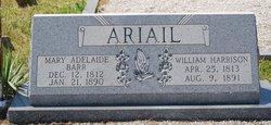 Mary Adeline <i>Barr</i> Ariail