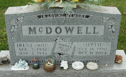Irene <i>Witt</i> McDowell