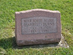 Marjorie Marie <i>Harrell</i> Burns