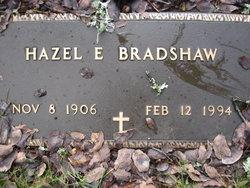 Hazel E <i>Franklin</i> Bradshaw