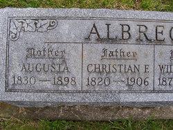 Augusta <i>Clemmons</i> Albrecht