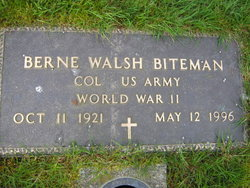 Berne Walsh Biteman