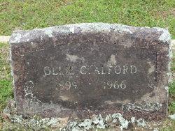 Ollie C <i>Griffin</i> Alford