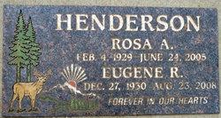 Eugene Ross Gene Henderson