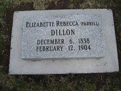 Elizabette Rebecca <i>Parrill</i> Dillon