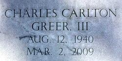 Charles Carlton Greer, III