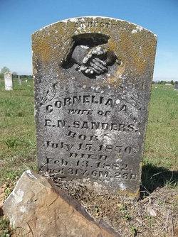 Cornelia A. Sanders