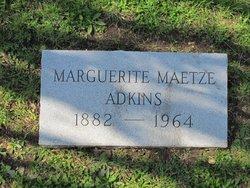 Marguerite <i>Maetze</i> Adkins