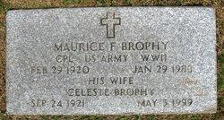 Cpl Maurice F Brophy