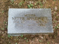 Nettie <i>Lloyd</i> Applewhite