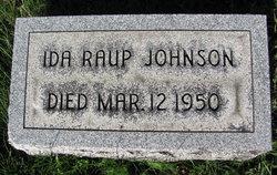 Ida <i>Raup</i> Johnson