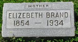 Elizabeth Lizzie <i>Foerster</i> Brand