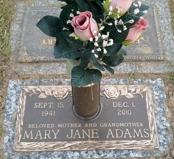 Mary Jane <i>Terrell</i> Adams