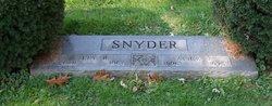Alice V <i>Rogers</i> Snyder