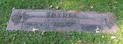Dwight R Snyder