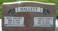 Alice Harriet <i>Kearns</i> Hallett