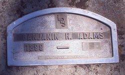 Benjamin Harrison Adams