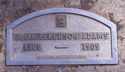 Julia Ferguson Adams