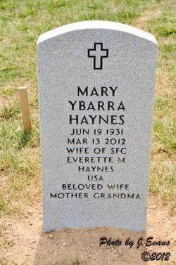 Mary Ybarra Haynes