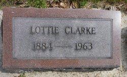 Lottie <i>McQueen</i> Clarke