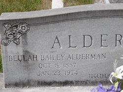 Beulah <i>Bailey</i> Alderman