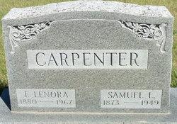 Frances Lenora <i>Brown</i> Carpenter