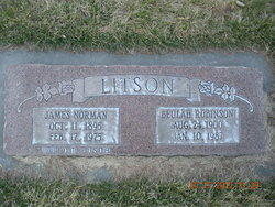 Beulah <i>Robinson</i> Litson