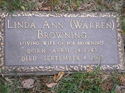 Linda Ann <i>Warren</i> Browning