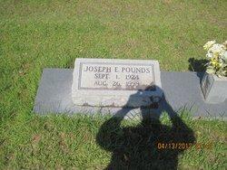 Joseph E Pounds