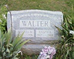 Bertha M Walter