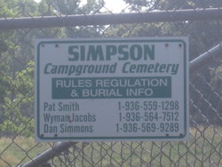 Simpson Campground Cemetery
