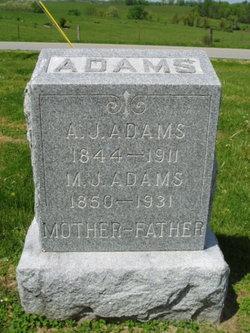 Matilda Jane <i>Gividen</i> Adams
