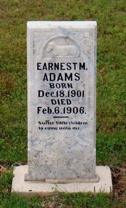 Earnest M. Adams