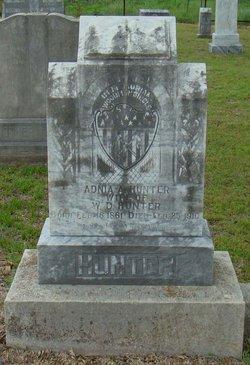Adnia Abigail <i>Puryear</i> Hunter