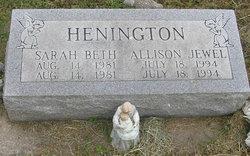 Allison Jewel Henington
