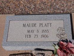 Maude Platt