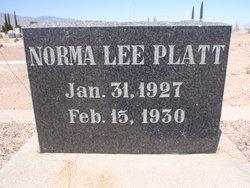 Norma Lee Platt