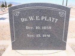 Dr William Erastus Platt