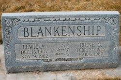 Irene Gertrude <i>Hansel</i> Blankenship