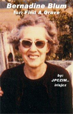 Bernadine Blum