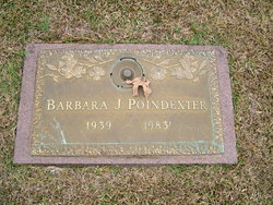 Barbara J Poindexter