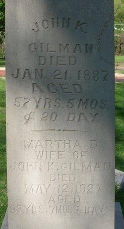 Martha Douglas <i>Fitchie</i> Gilman