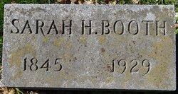 Sarah H. <i>Butler</i> Booth