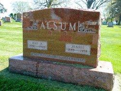 Jennie <i>Alsum</i> Alsum