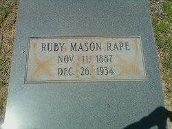 Ruby Clifford <i>Mason</i> Rape