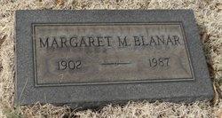 Margaret M. <i>Moody</i> Blanar