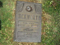 Timothy Amzy Duckworth, Jr